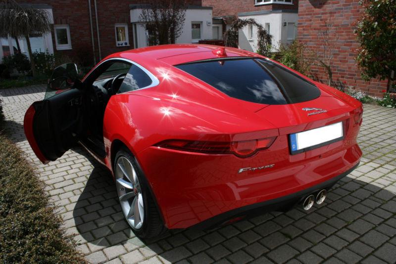 verkauft jaguar f type coupe aut voll gebraucht 2014 km in berlin. Black Bedroom Furniture Sets. Home Design Ideas