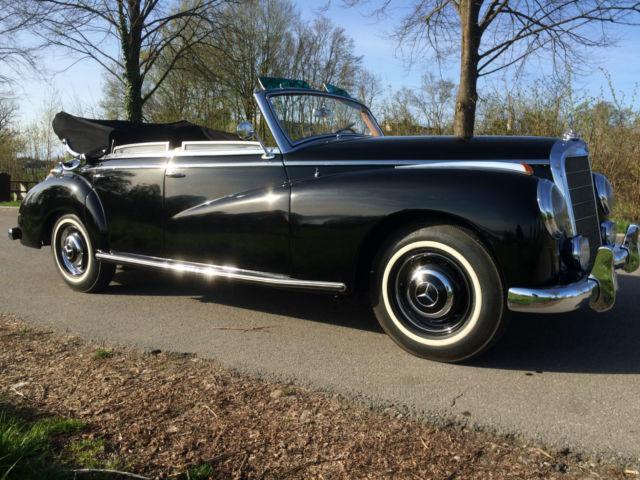 verkauft mercedes 300 adenauer cabrio gebraucht 1952. Black Bedroom Furniture Sets. Home Design Ideas