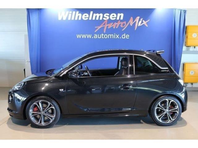 verkauft opel adam s 1 4 s s benzin gebraucht 2016 14. Black Bedroom Furniture Sets. Home Design Ideas