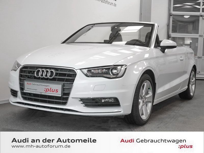verkauft audi a3 cabriolet 1 8 tfsi am gebraucht 2014 km in wuppertal. Black Bedroom Furniture Sets. Home Design Ideas