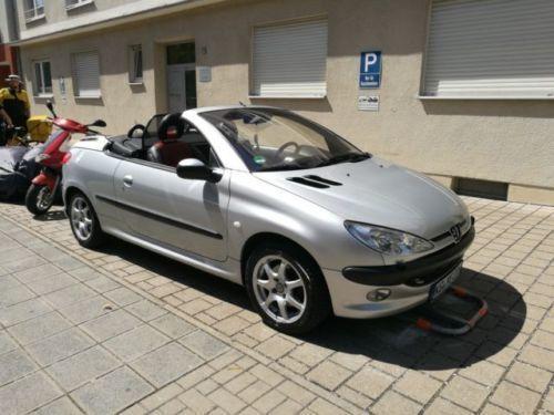 1 4 Gebraucht Peugeot 206 Cc 110 Platinum Guter Zustand Cabrio