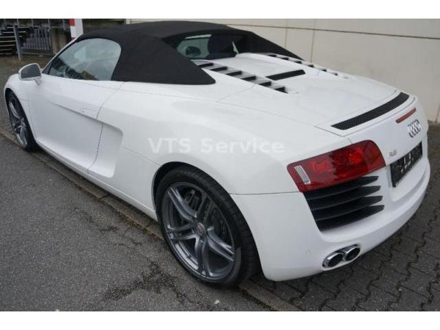 verkauft audi r8 spyder 4 2 quattro ma gebraucht 2011 km in offenbach. Black Bedroom Furniture Sets. Home Design Ideas