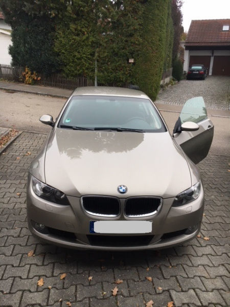 verkauft bmw 320 3er coupe gebraucht 2007 km in. Black Bedroom Furniture Sets. Home Design Ideas