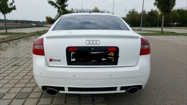 Verkauft Audi Rs6 Limousine Weiss Tu Gebraucht 2002 299 500 Km