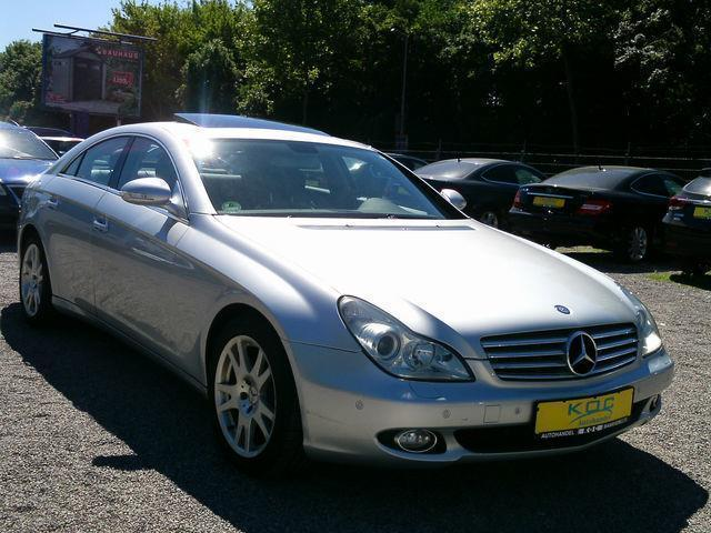 verkauft mercedes cls350 gebraucht 2005 km in. Black Bedroom Furniture Sets. Home Design Ideas
