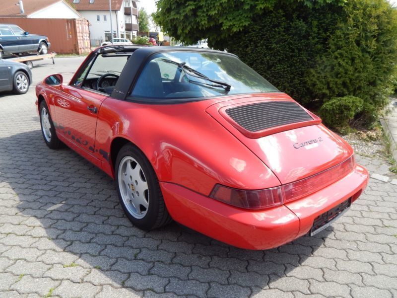 verkauft porsche 964 targa gebraucht 1993 km in. Black Bedroom Furniture Sets. Home Design Ideas