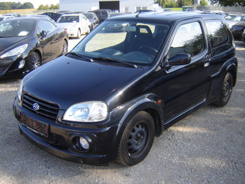 verkauft suzuki ignis 1 5 sport mit ga gebraucht 2004 km in essen. Black Bedroom Furniture Sets. Home Design Ideas