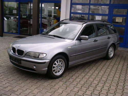 verkauft bmw 316 i touring gebraucht 2003 km in falkenberg. Black Bedroom Furniture Sets. Home Design Ideas