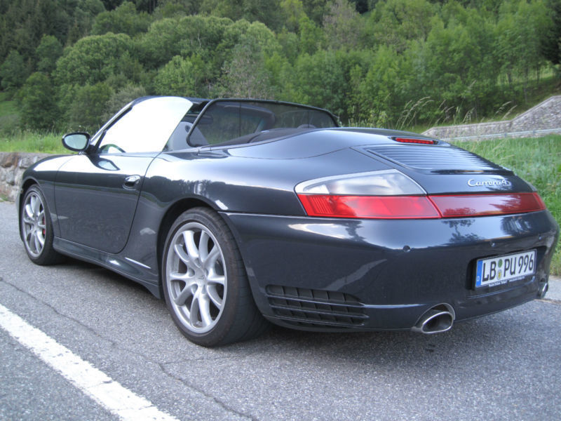 verkauft porsche 996 4s cabrio foliert gebraucht 2005 km in regensburg. Black Bedroom Furniture Sets. Home Design Ideas