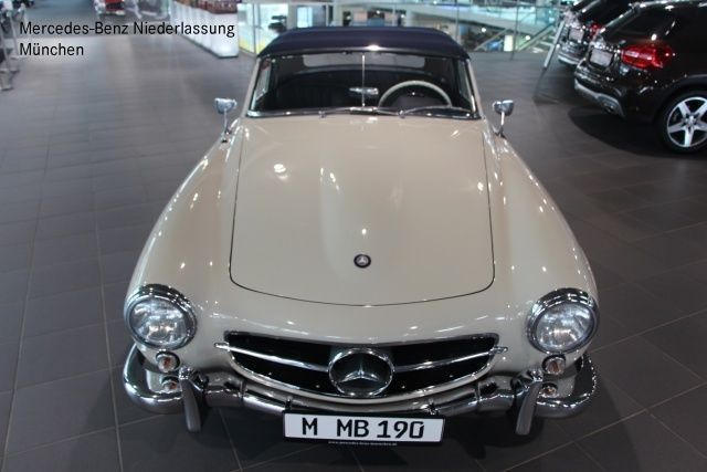 verkauft mercedes 190 sl roadster weis gebraucht 1957. Black Bedroom Furniture Sets. Home Design Ideas