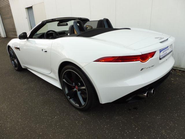 verkauft jaguar f type v8 cabriolet s gebraucht 2014 km in hamburg. Black Bedroom Furniture Sets. Home Design Ideas