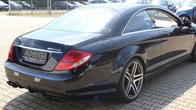 verkauft mercedes cl500 cl coupevollau gebraucht 2006 km in eschweiler. Black Bedroom Furniture Sets. Home Design Ideas