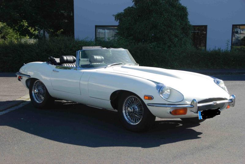 verkauft jaguar e type 4 2 liter cabri gebraucht 1970 1. Black Bedroom Furniture Sets. Home Design Ideas