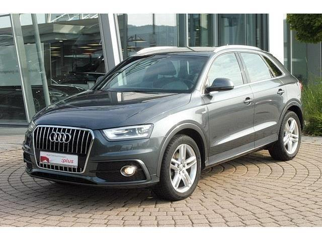 verkauft audi q3 s line 2 0 tdi xenon gebraucht 2012. Black Bedroom Furniture Sets. Home Design Ideas