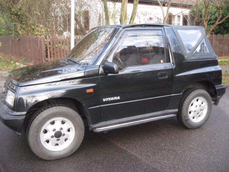 verkauft suzuki vitara cabrio automati gebraucht 1992 km in berlin zehlendorf. Black Bedroom Furniture Sets. Home Design Ideas