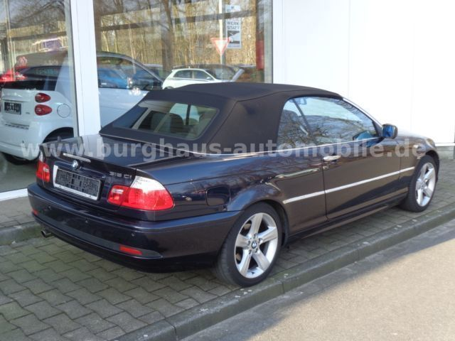 verkauft bmw 318 cabriolet gebraucht 2005 km in m nster. Black Bedroom Furniture Sets. Home Design Ideas