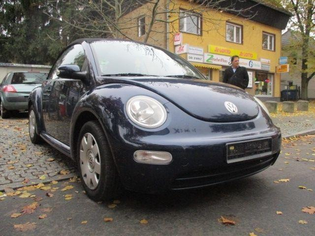 verkauft vw beetle cabriolet 2 0 aut gebraucht 2004. Black Bedroom Furniture Sets. Home Design Ideas