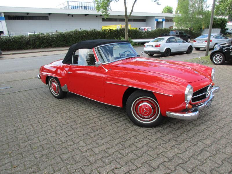 Mobile Oldtimer Mercedes  Sl