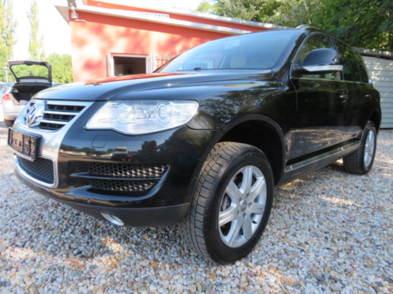 verkauft vw touareg 3 0 v6 tdi dpf aut gebraucht 2008 km in wolfen. Black Bedroom Furniture Sets. Home Design Ideas