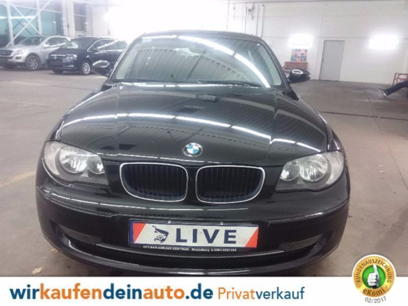 verkauft bmw 116 1er i facelift klima gebraucht 2007 km in laatzen. Black Bedroom Furniture Sets. Home Design Ideas