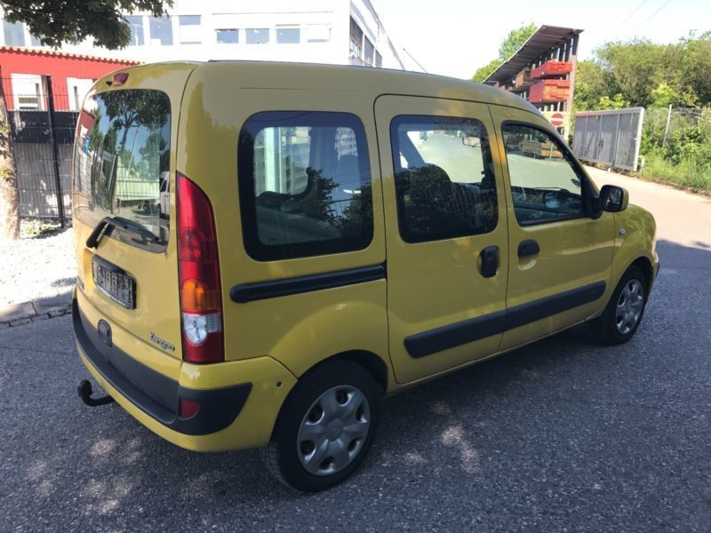 verkauft renault kangoo 1 6 euro 4 kli gebraucht 2007 km in m nchen. Black Bedroom Furniture Sets. Home Design Ideas