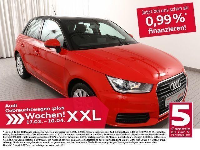 gebraucht Audi A1 Sportback 1.0TFSI S-Tronic/NAV+/AllSeason