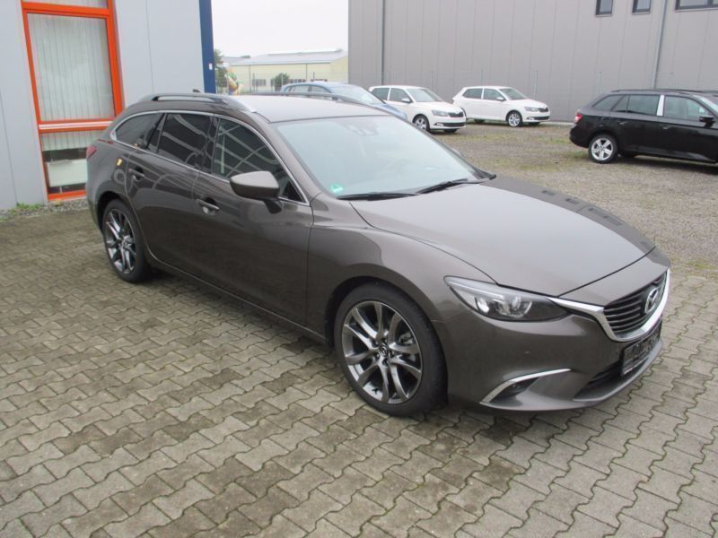 verkauft mazda 6 kombi ledernaviassist gebraucht 2016 km in weeze. Black Bedroom Furniture Sets. Home Design Ideas