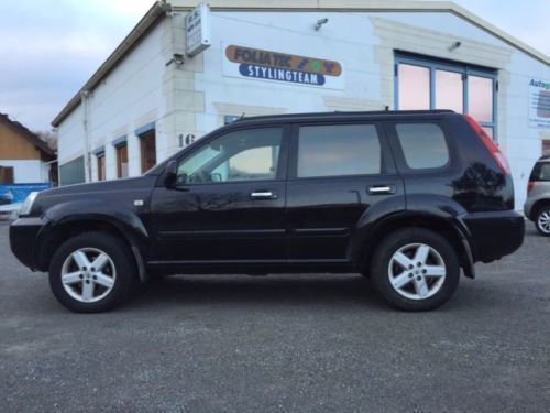verkauft nissan x trail 2 2 dci 4x4 el gebraucht 2004 km in dellmensingen. Black Bedroom Furniture Sets. Home Design Ideas