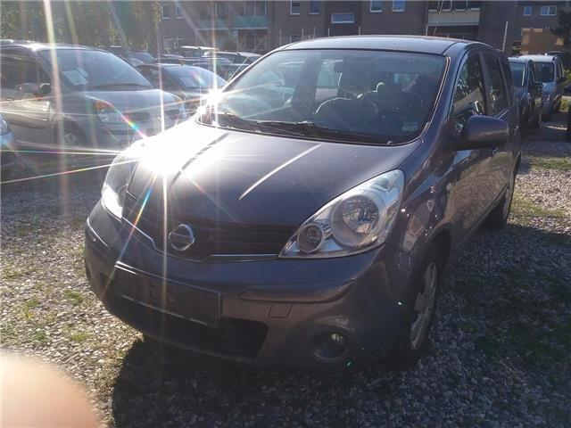 verkauft nissan note 1 4 acenta gebraucht 2009 km. Black Bedroom Furniture Sets. Home Design Ideas