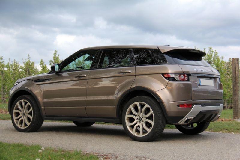 range rover evoque gebrauchte land rover range rover evoque kaufen g nstige autos zum. Black Bedroom Furniture Sets. Home Design Ideas