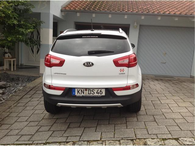 verkauft kia sportage crdi 1 7 spirit gebraucht 2013 km in tengen. Black Bedroom Furniture Sets. Home Design Ideas