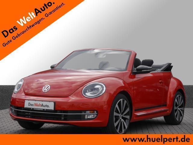 verkauft vw beetle cabrio club r line gebraucht 2016 km in landshut. Black Bedroom Furniture Sets. Home Design Ideas