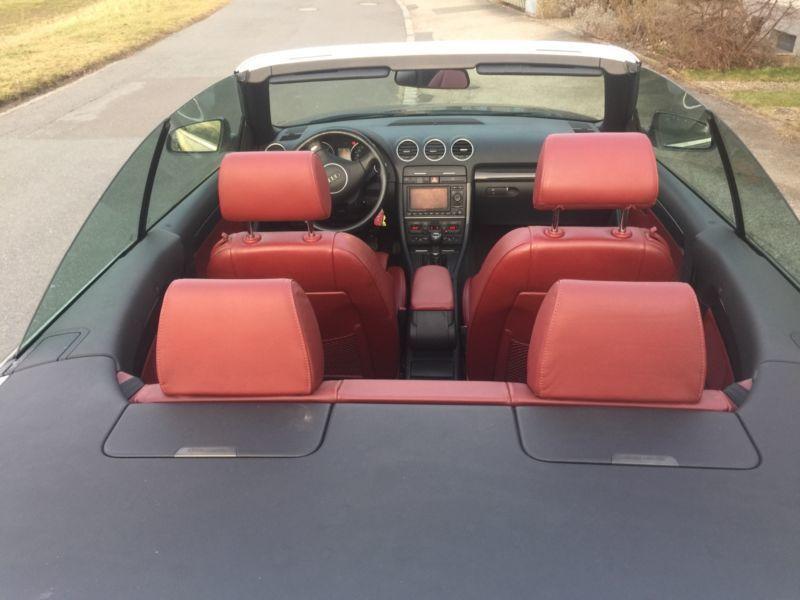 verkauft audi a4 cabriolet s line na gebraucht 2004. Black Bedroom Furniture Sets. Home Design Ideas