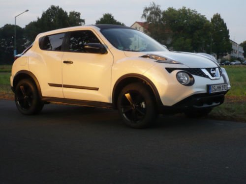 verkauft nissan juke 1 2 dig t gebraucht 2014 km. Black Bedroom Furniture Sets. Home Design Ideas