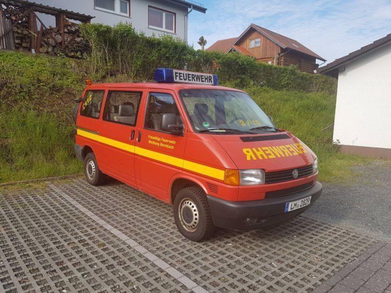 Verkauft VW T4 MTW Feuerwehr VWSyncro ., gebraucht 1998 ...