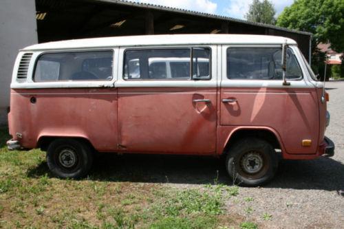 verkauft vw t2 vw bus bulli fensterbus gebraucht 1977 km in ehweiler. Black Bedroom Furniture Sets. Home Design Ideas