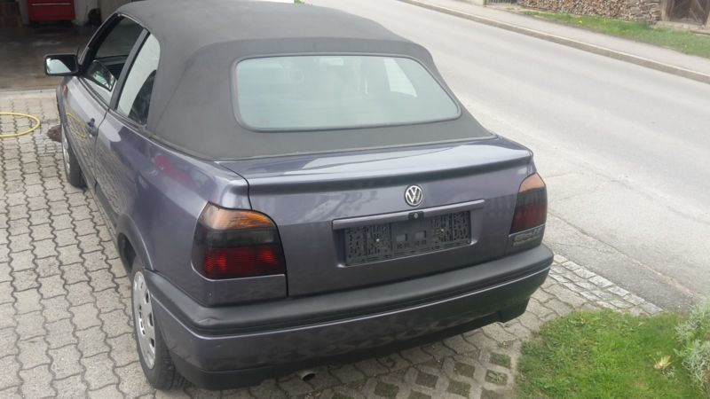 verkauft vw golf cabriolet cabrio 1 8 gebraucht 1994 km in oberteisendorf. Black Bedroom Furniture Sets. Home Design Ideas