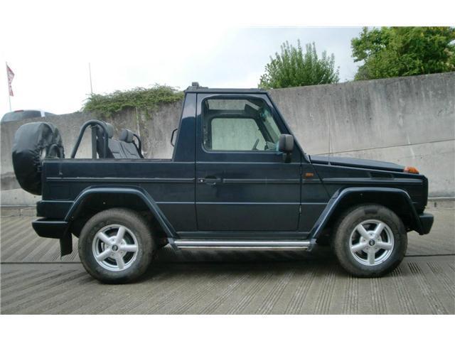 verkauft mercedes g320 cabrio hardtop gebraucht 1995 km in braunschweig. Black Bedroom Furniture Sets. Home Design Ideas