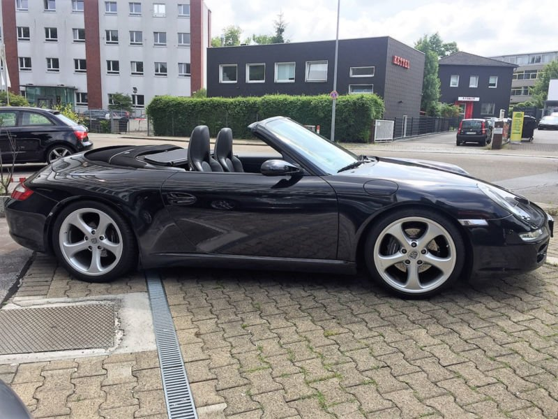 verkauft porsche 997 cabrio sport chro gebraucht 2005 km in bielefeld. Black Bedroom Furniture Sets. Home Design Ideas