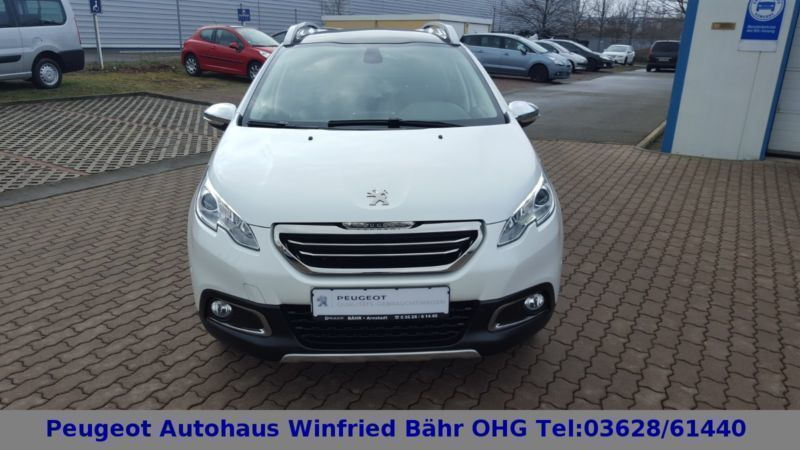 verkauft peugeot 2008 allure panorama gebraucht 2015 km in arnstadt. Black Bedroom Furniture Sets. Home Design Ideas