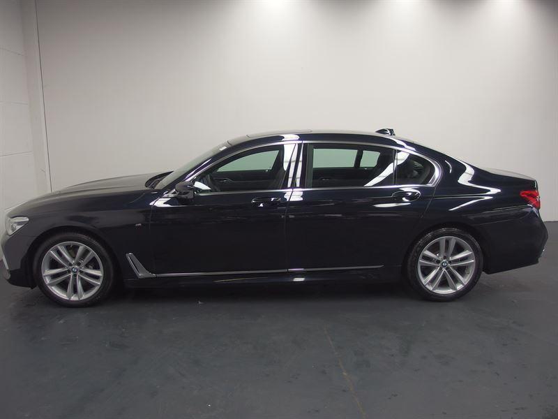 gebraucht BMW 730L d xDrive/M-Sportpaket/AHK/Laser/HUD/Standhzg