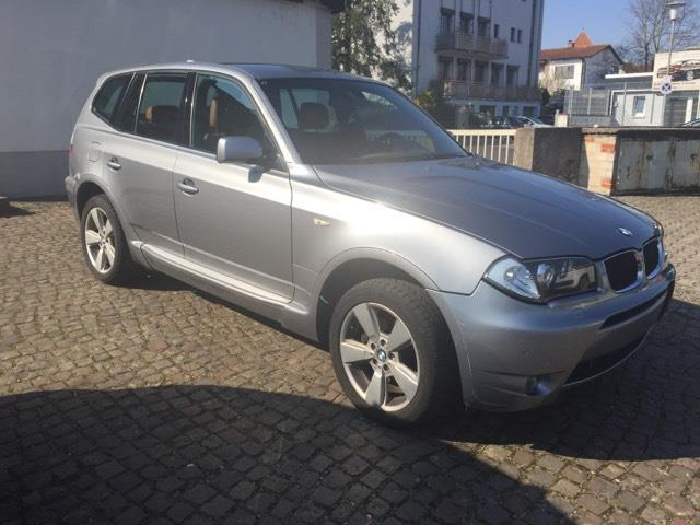 verkauft bmw x3 gebraucht 2005 km in speyer. Black Bedroom Furniture Sets. Home Design Ideas