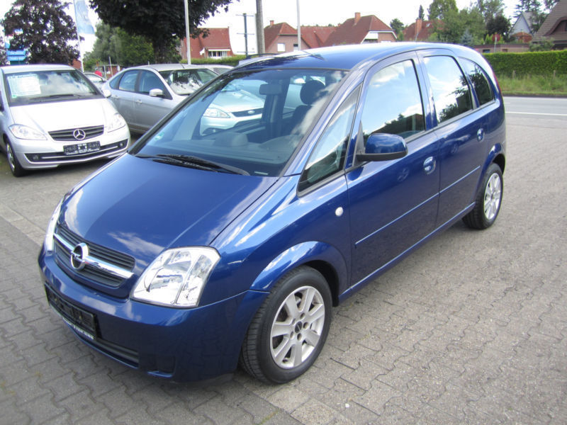 verkauft opel meriva 1 7 cdti navigat gebraucht 2005 km in warendorf. Black Bedroom Furniture Sets. Home Design Ideas