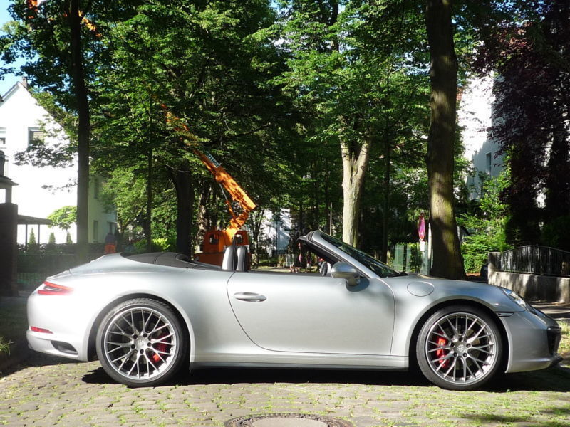 verkauft porsche 991 4s cabrio led spo gebraucht 2016 km in minden. Black Bedroom Furniture Sets. Home Design Ideas