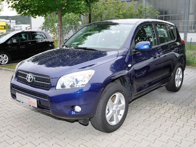 verkauft toyota rav4 2 0 vvt i automat gebraucht 2007 km in weinheim. Black Bedroom Furniture Sets. Home Design Ideas