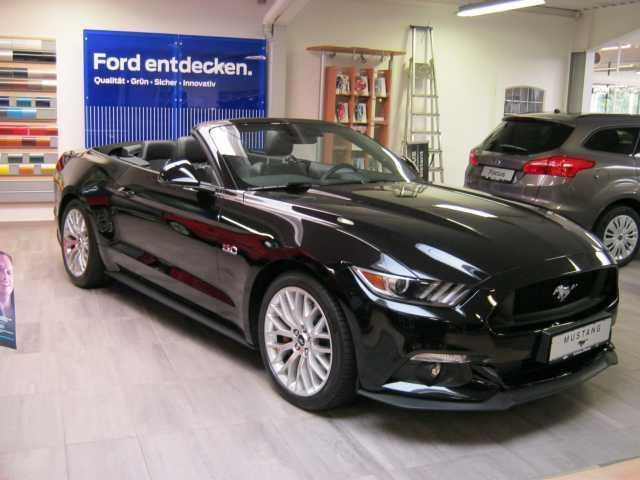 verkauft ford mustang gt cabrio 5 0 ti gebraucht 2015 4. Black Bedroom Furniture Sets. Home Design Ideas