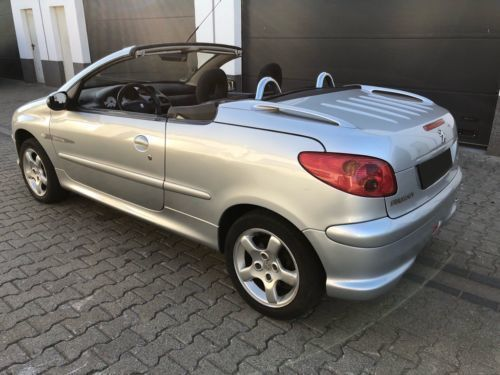 verkauft peugeot 206 cc quiksilver 1.6., gebraucht 2004, 153.591 km