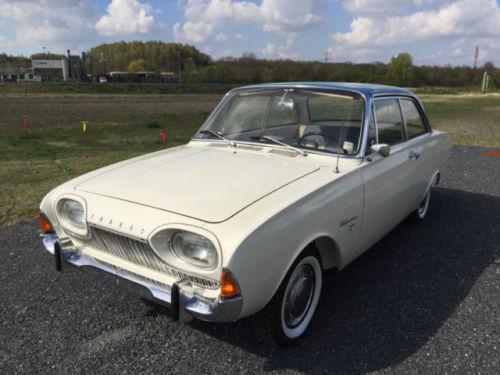 Verkauft Ford Taunus 17m P3 Badewanne Gebraucht 1961 80 876 Km In