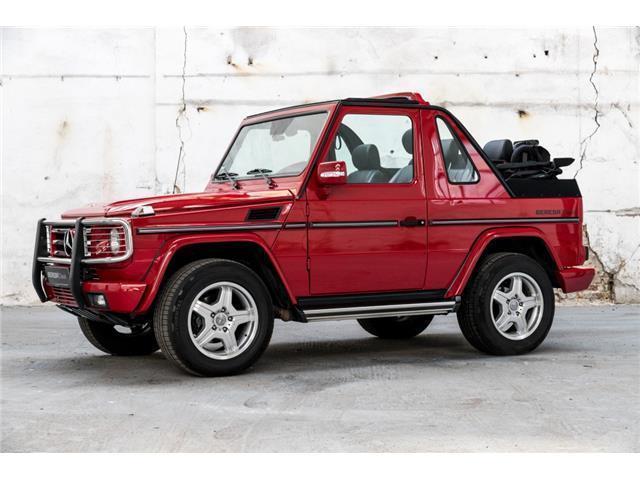 verkauft mercedes g500 cabrio gebraucht 2005 km in steinfurt. Black Bedroom Furniture Sets. Home Design Ideas