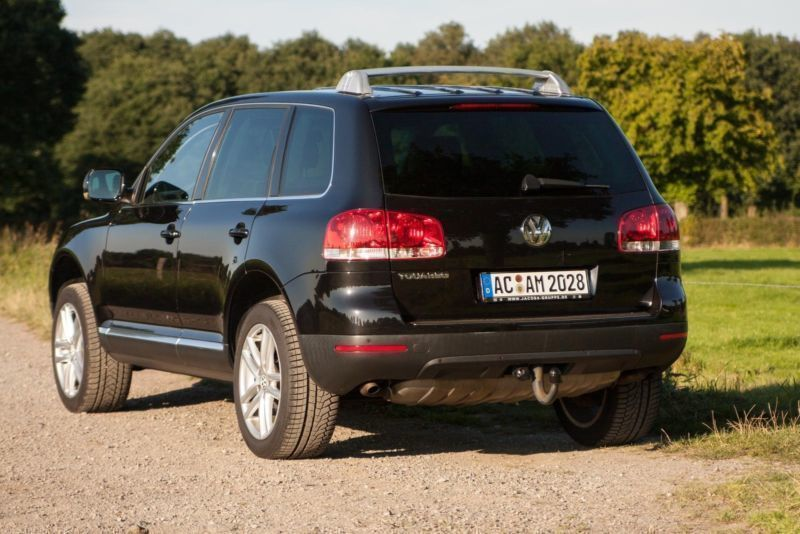 verkauft vw touareg v6 tdi individual gebraucht 2005 km in aachen brand. Black Bedroom Furniture Sets. Home Design Ideas